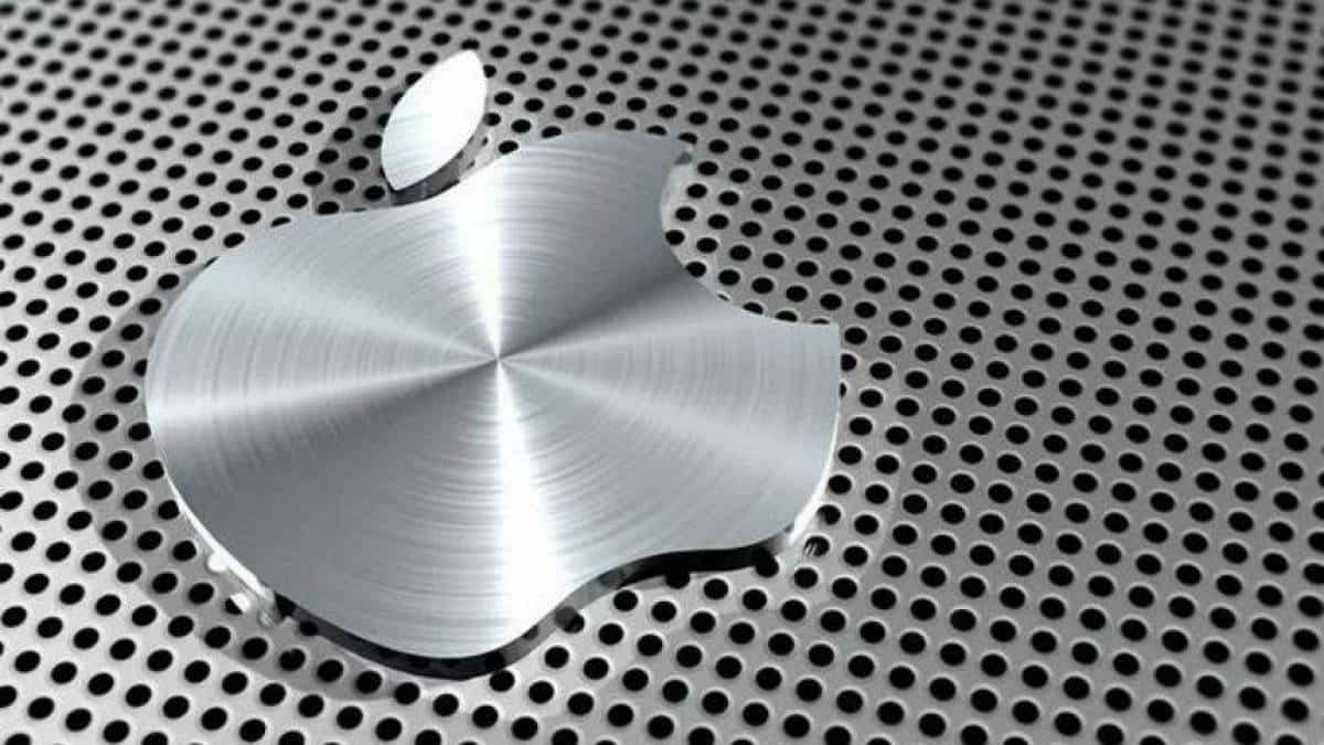 Apple logo marca