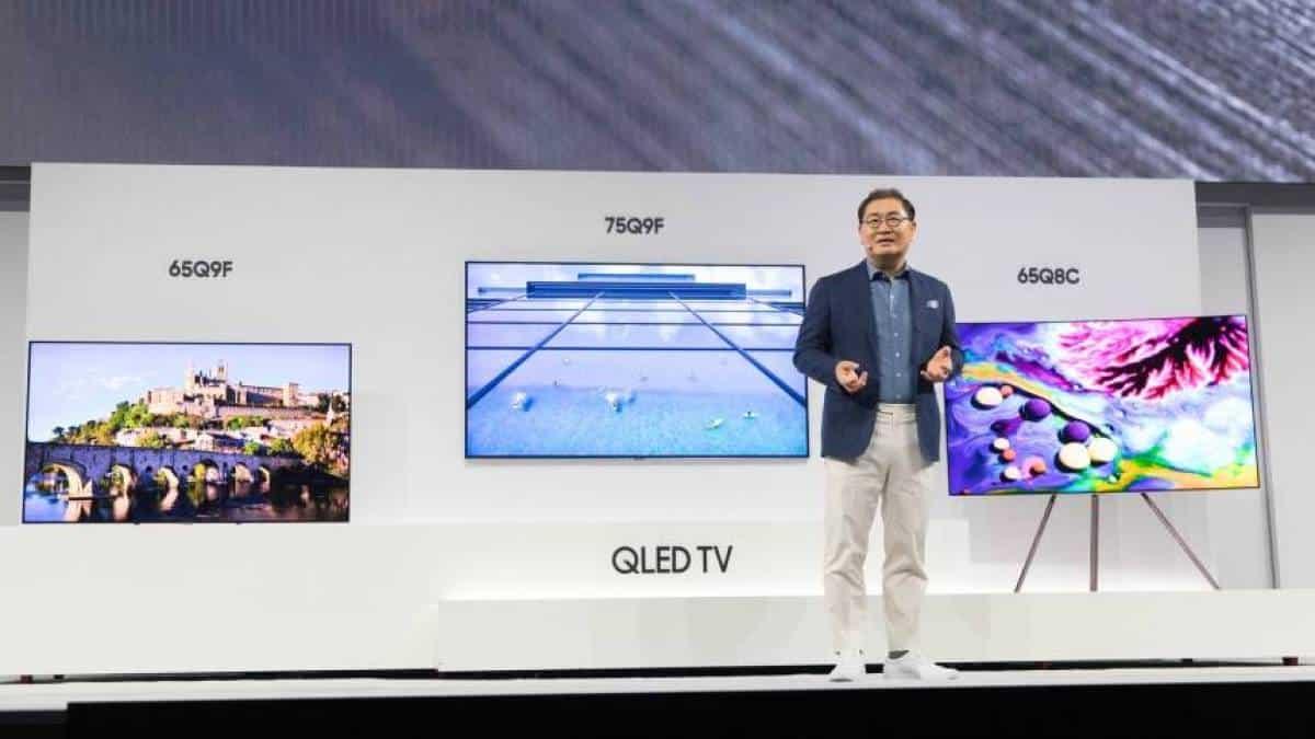 8397fc325 Samsung anuncia linha 2018 de TVs QLED de até 88 polegadas