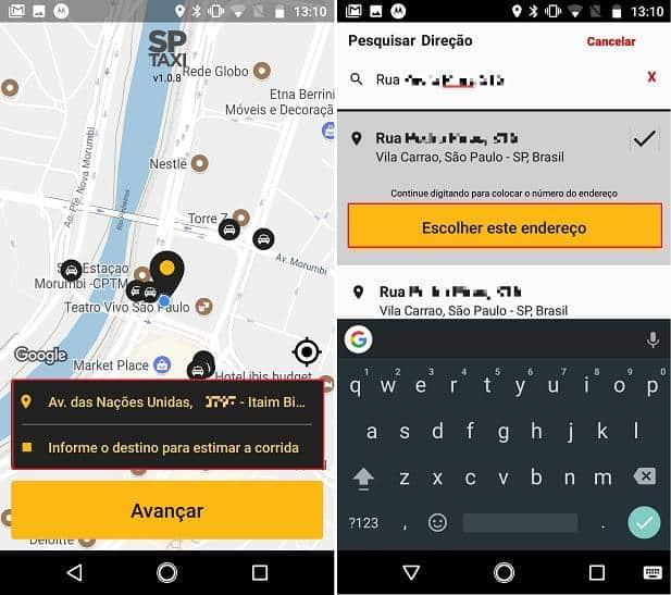 Prefeitura de São Paulo dá início ao funcionamento do app SPTaxi
