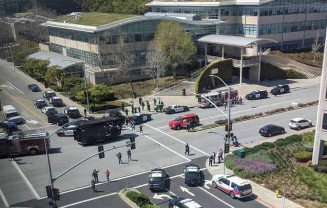 Tiros em campus do YouTube nos EUA deixam ao menos quatro feridos