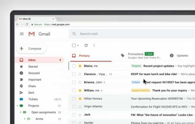 Google comea a liberar novo visual para o gmail confira o que muda stopboris Gallery