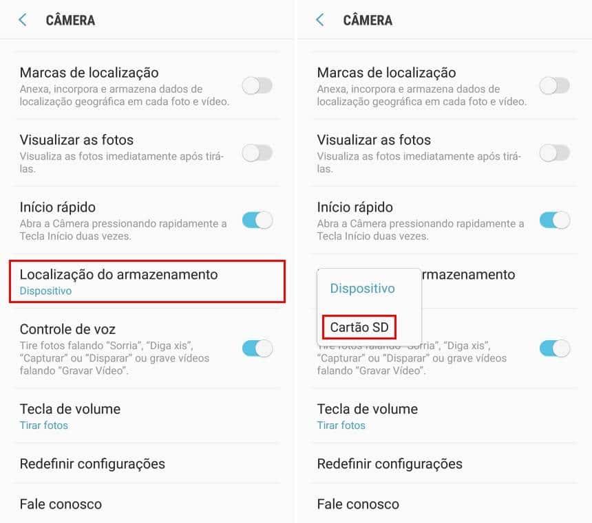 Como transferir suas fotos para um cartão de memória no Android