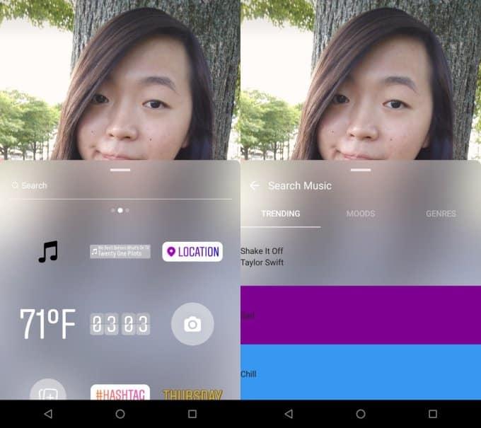 Instagram permitirá que você adicione músicas no seus Stories
