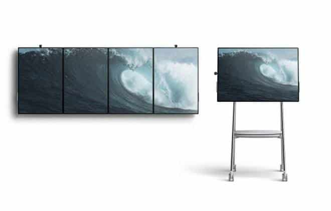 Microsoft anuncia nova versão do painel digital Surface Hub