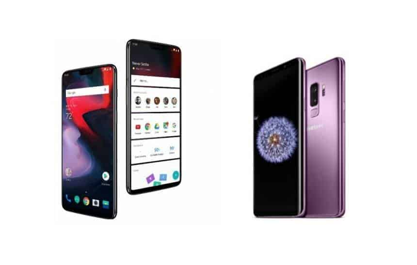 OnePlus 6 x Galaxy S9 Plus: compare os top de linha Android