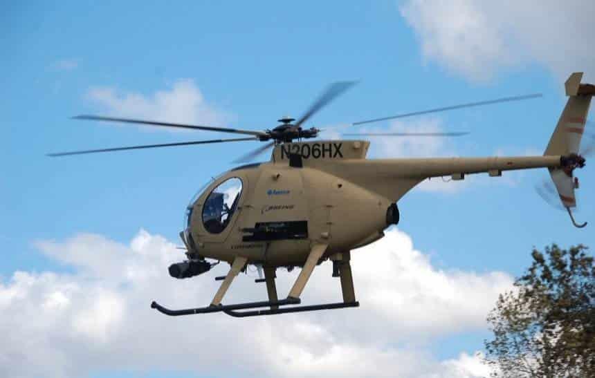 Helicóptero autônomo faz sua primeira entrega