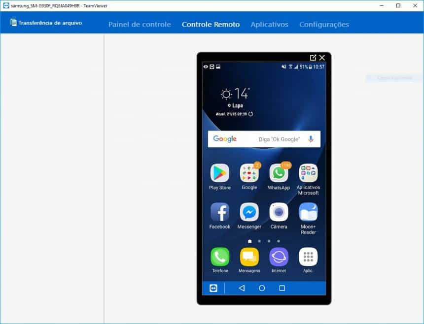 Como controlar a tela do Android pelo computador