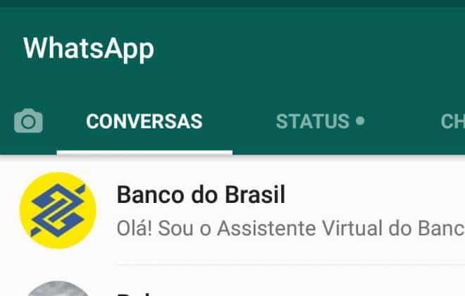 Resultado de imagem para banco do brasil e whatsapp
