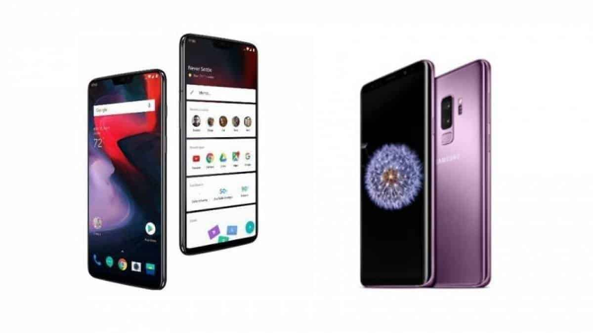 fd29b0d69 OnePlus 6 x Galaxy S9 Plus: compare os top de linha Android