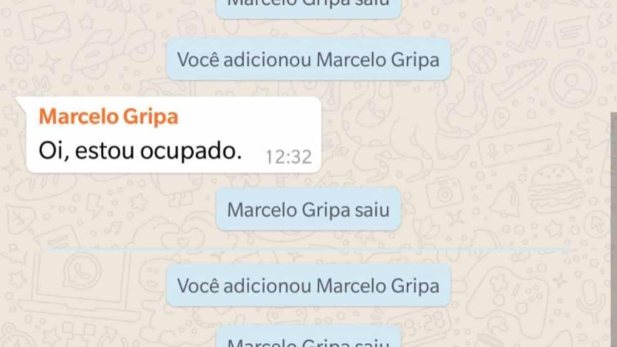 Sair do grupo
