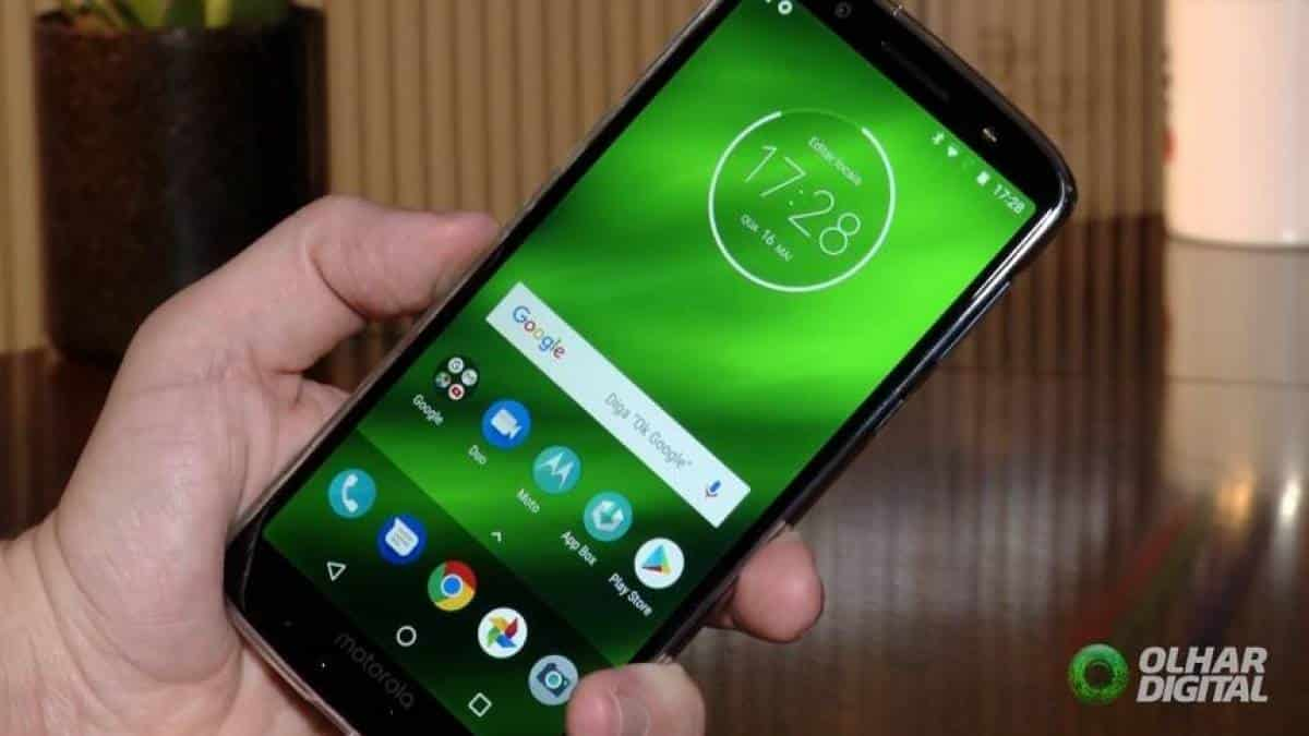 android 9.0 pie moto g6 play
