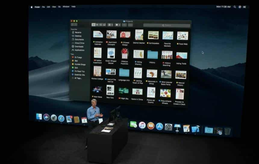 Apple lança primeiro beta público do macOS Mojave