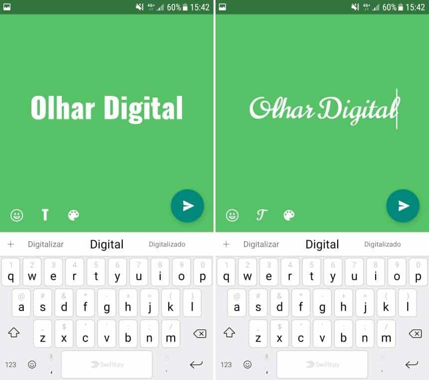 Status No Whatsapp Como Fazer Posts Com Letras Diferentes