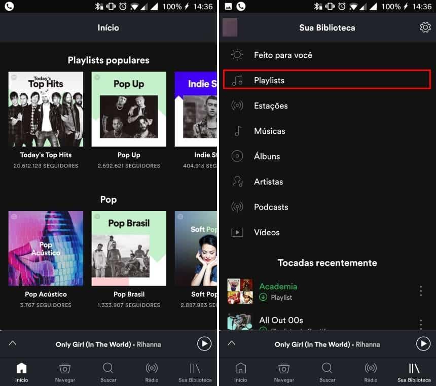 Veja como mudar a ordem das músicas em playlists no Android ou iPhone no Spotify
