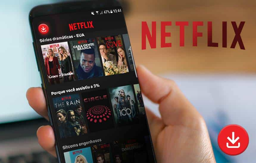 Como usar o download inteligente da Netflix no Android