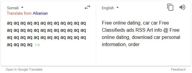 no dating tradutor
