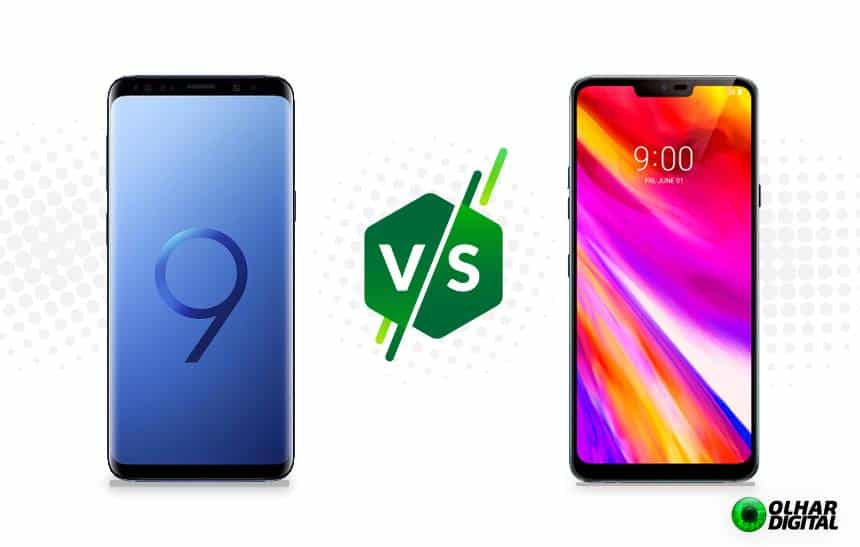 Galaxy S9 vs LG G7 ThinQ: compare os poderosos smartphones Android