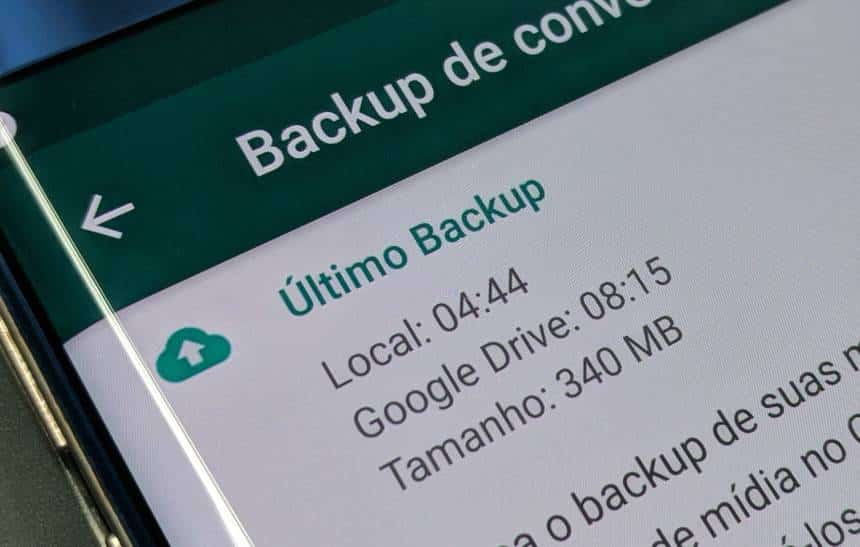 Backup do WhatsApp para Android agora é ilimitado