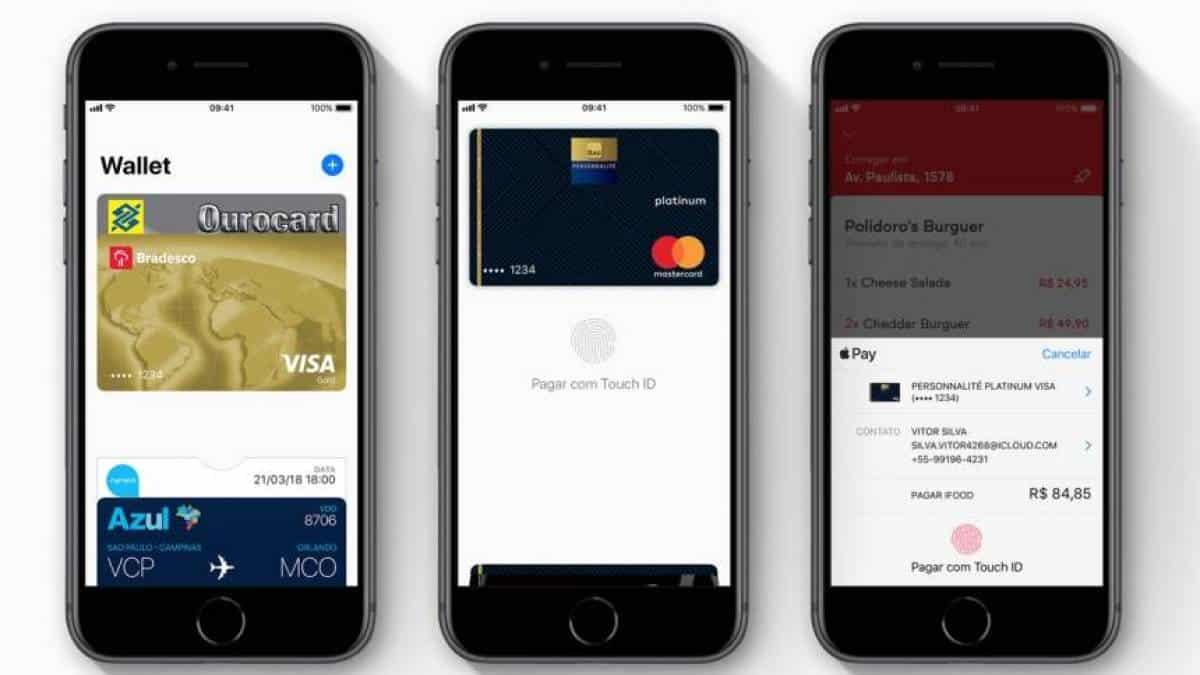 sale retailer cf44b 13cc2 Apple Pay ganha suporte a cartões de Bradesco e Banco do Brasil