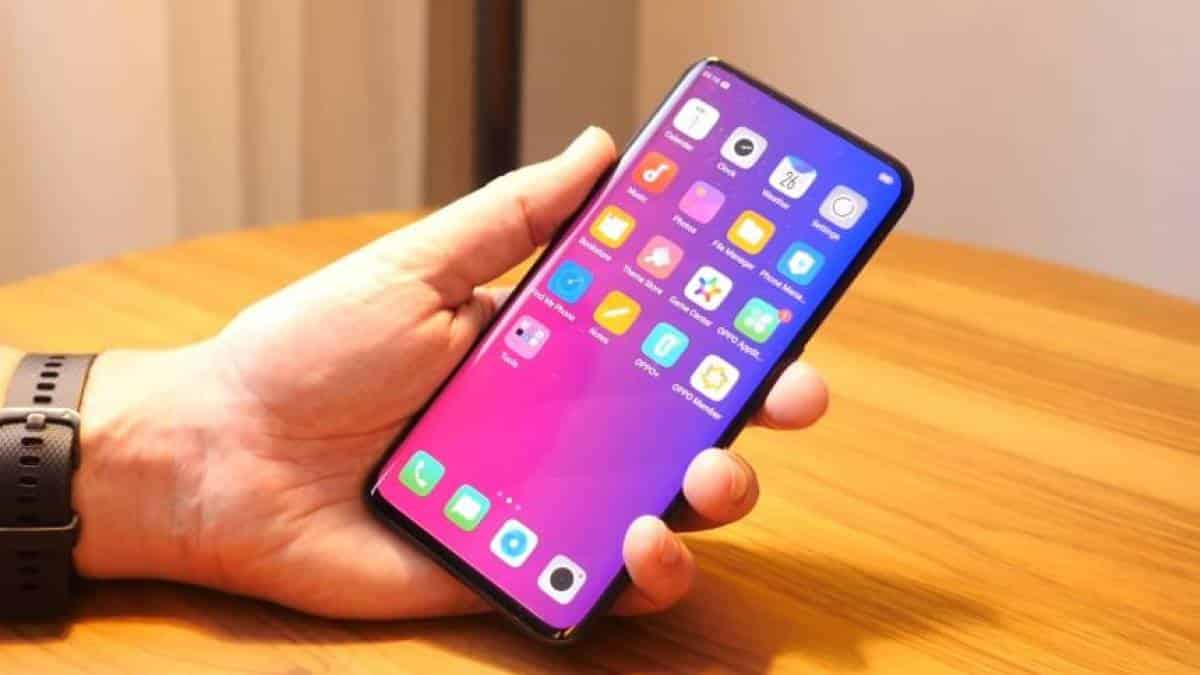 Oppo Find X Tela Display