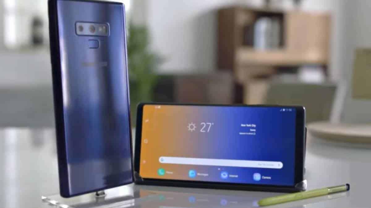 684b2b822 Samsung Galaxy Note 9 chega ao Brasil custando até R  6.500