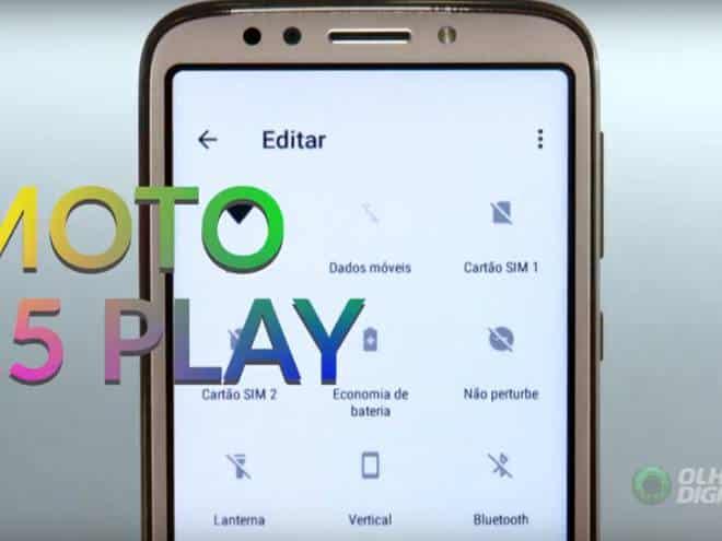 51e3bb9df Testamos o Moto E5 Play  conheça o novo celular da Motorola