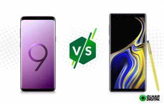Galaxy Note 9 ou Galaxy S9+: compare as fichas técnicas dos tops da Samsung