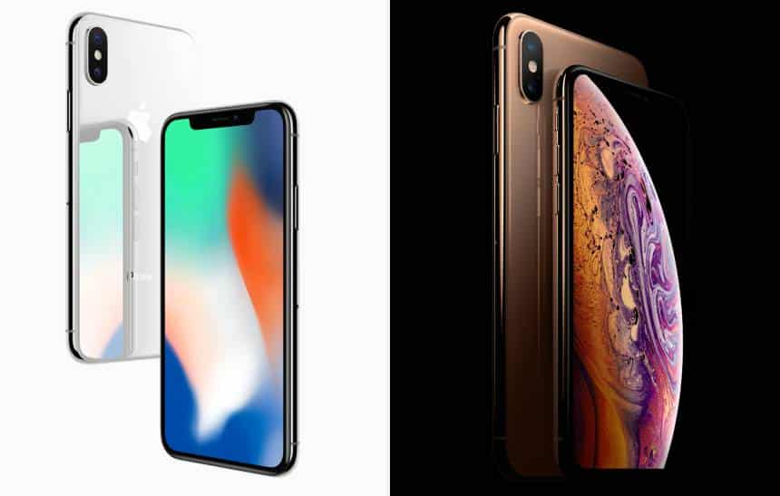 O que mudou do iPhone X para o iPhone XS Max
