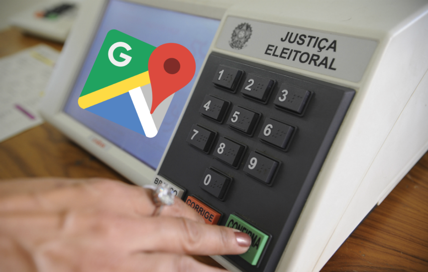 Como consultar seu local de votação na internet e salvá-lo no Google Maps