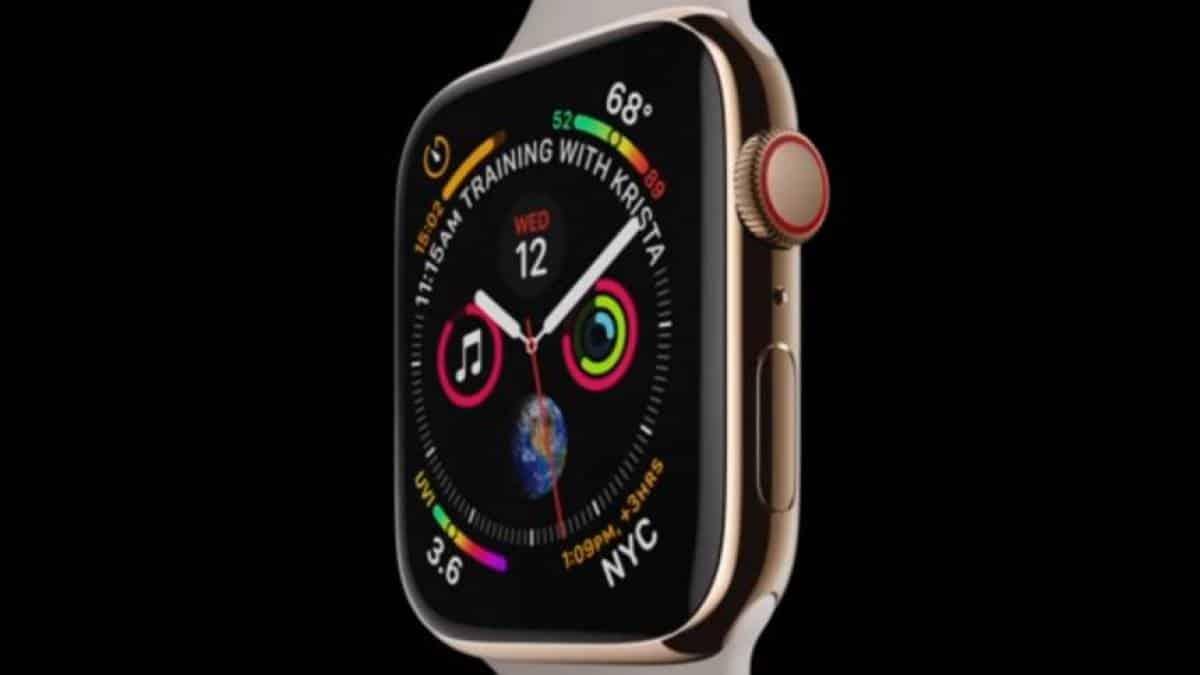 b1859d764da Apple Watch Series 4 é o novo relógio inteligente da marca  conheça