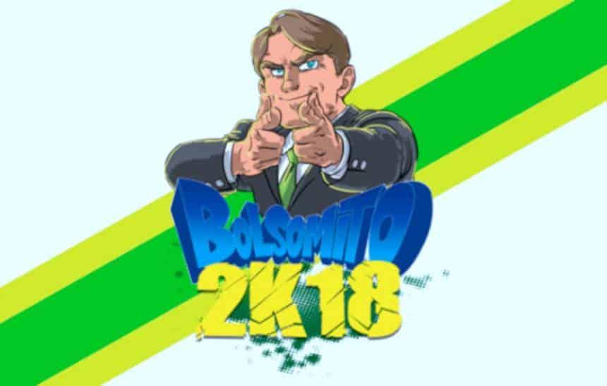 Bolsomito 2K18 vira caso de polícia; game usa imagem de Jair Bolsonaro