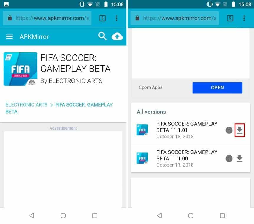Como jogar o FIFA 19 no Android antes de todo mundo