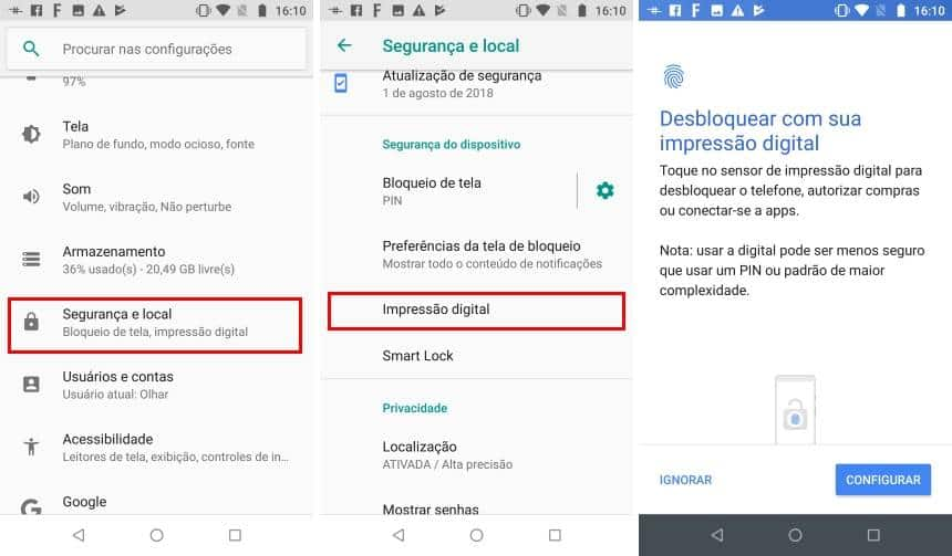 Como desbloquear o Windows com o leitor de digitais do Android - Winew