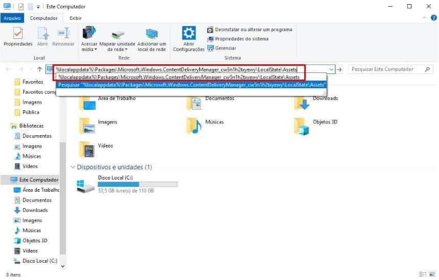 How to get screenshot screenshots for wallpapers in Windows 10