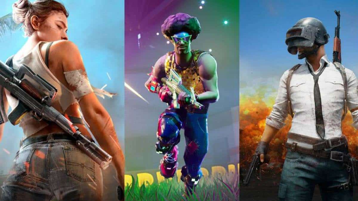 free fire x fortnite x pubg conheca os tres games para celular do momento - free fire ou fortnite