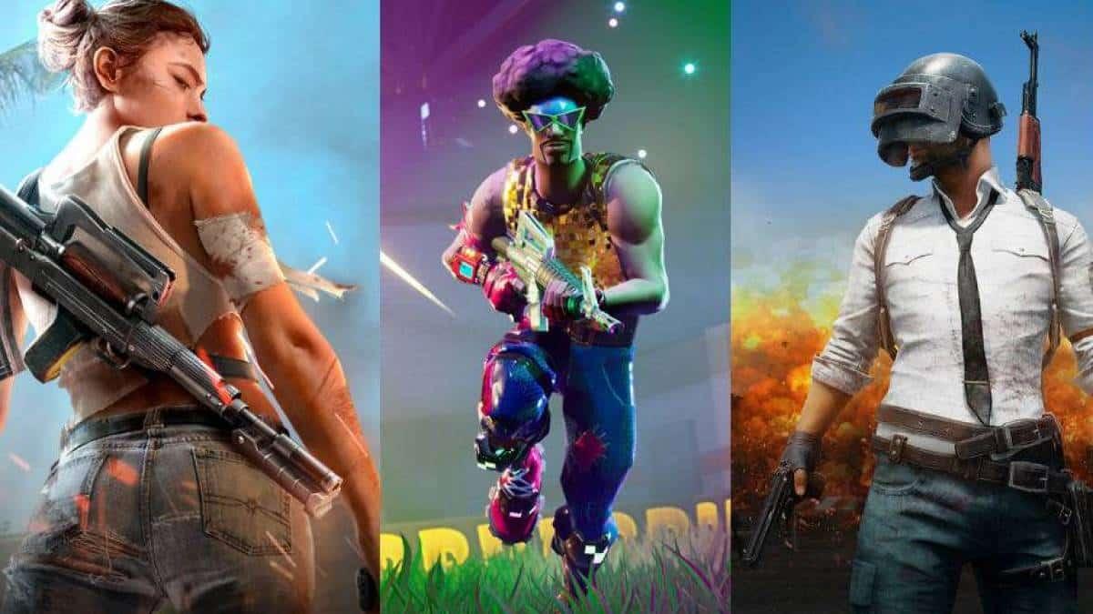 Free Fire X Fortnite X Pubg Conheca Os Tres Games Para Celular Do