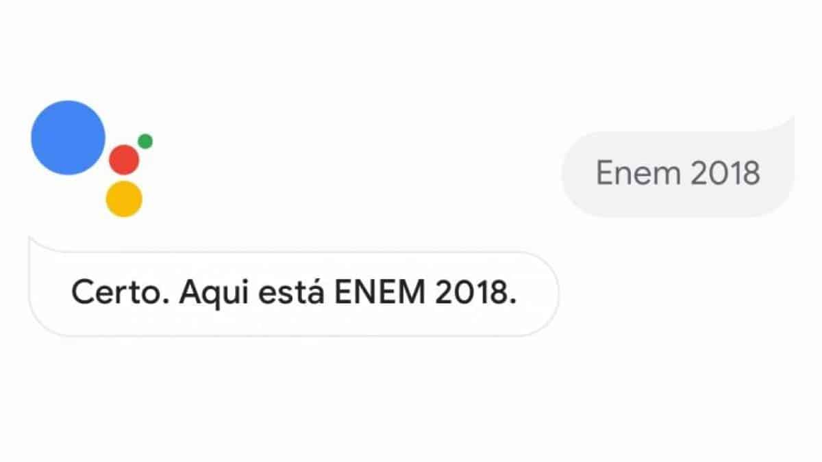 Google Assistente Enem