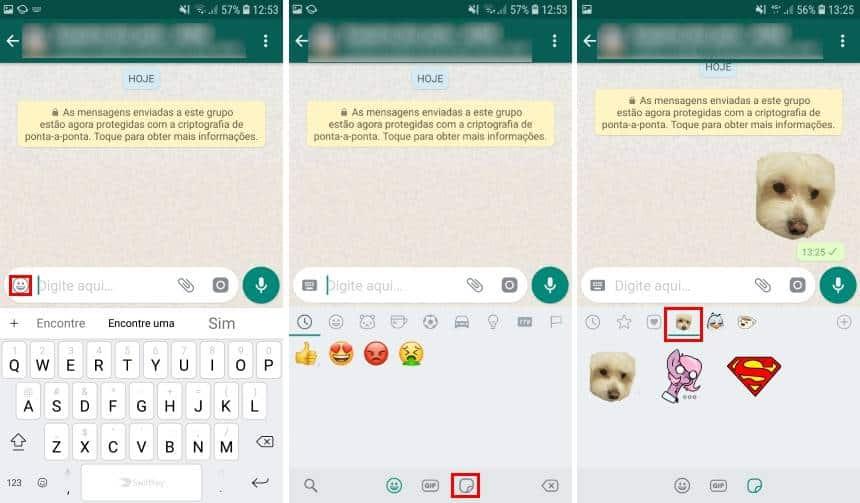 como fazer sticker do whatsapp no iphone