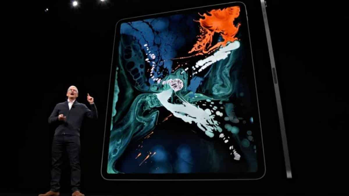 iPad Pro 2018 Tim Cook Apple