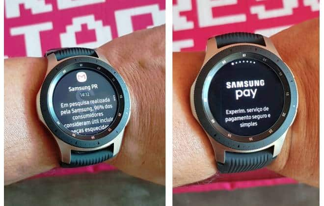 afe33d5a317 Review do Samsung Galaxy Watch  quase um smartphone no pulso