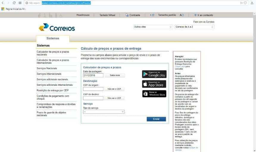 c85d3e4f28bb2 Como rastrear encomendas no site dos Correios