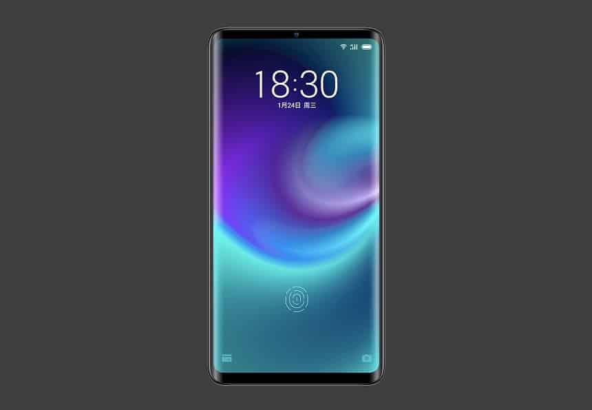 Reprodução  - 20190123025009 - Meizu revela celular 'sem buracos'; aparelho não tem nem entrada USB