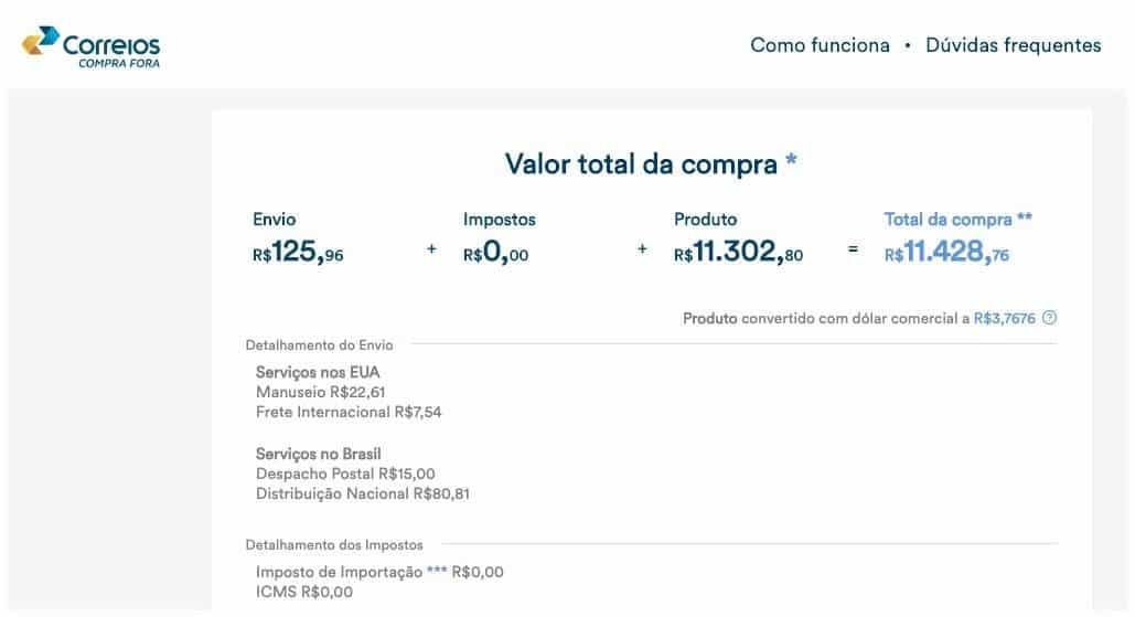 dcec266f1 Compra Fora  prós e contras de usar o novo site de importação dos ...