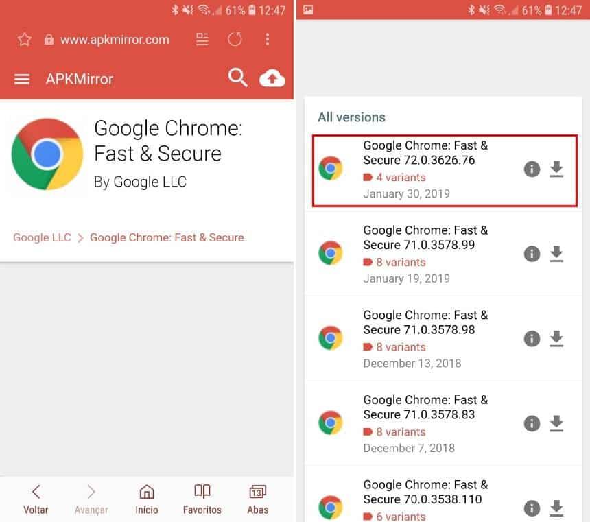 Quais são as novidades do Chrome 72 e como forçar a sua atualização