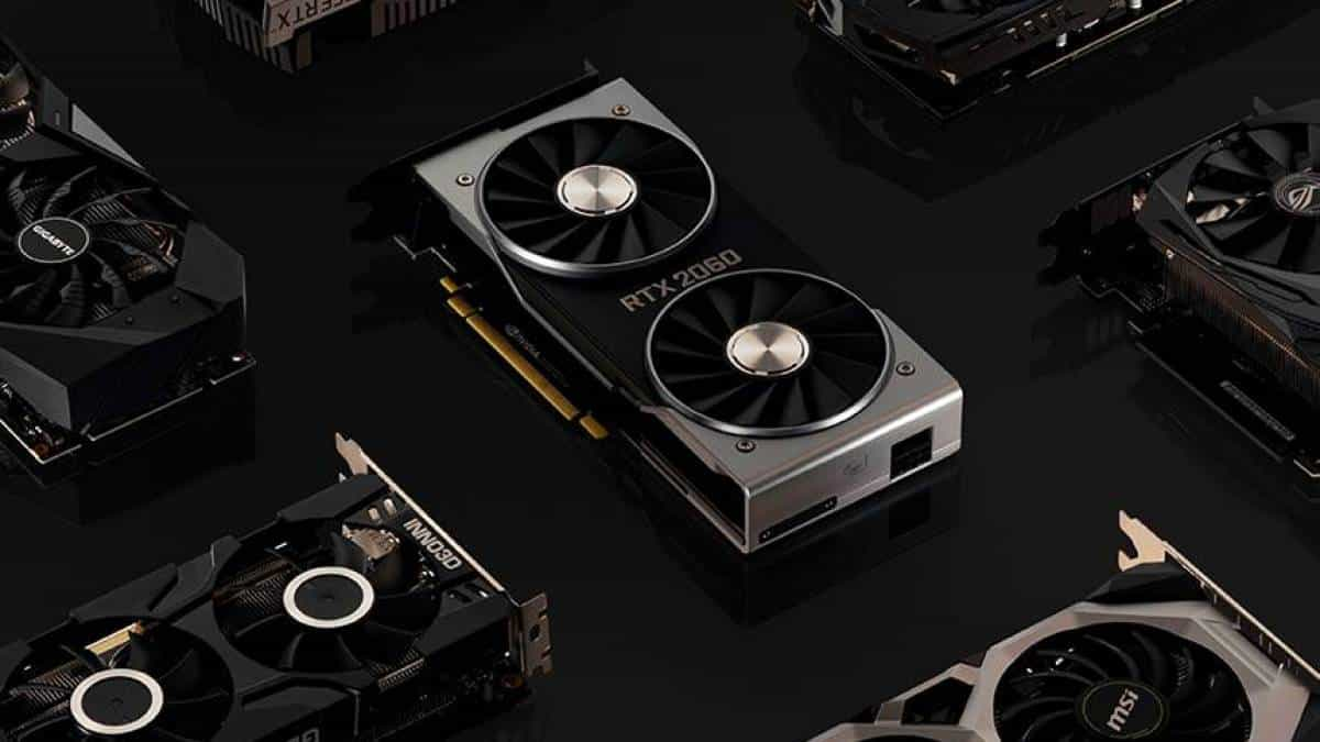 Nvidia GeForce RTX 2060 placa de vídeo GPU