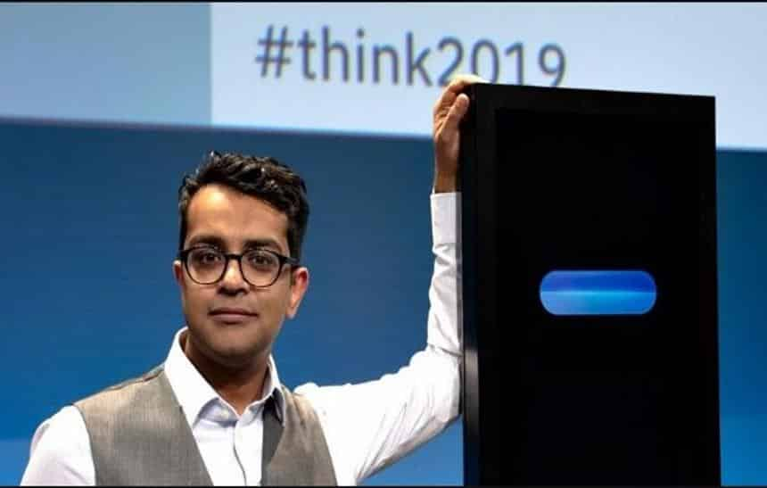 Humano vence Inteligência Artificial da IBM em debate na Think Conference