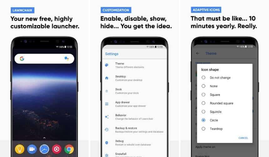 Os cinco melhores launchers gratuitos e sem propagandas para o Android