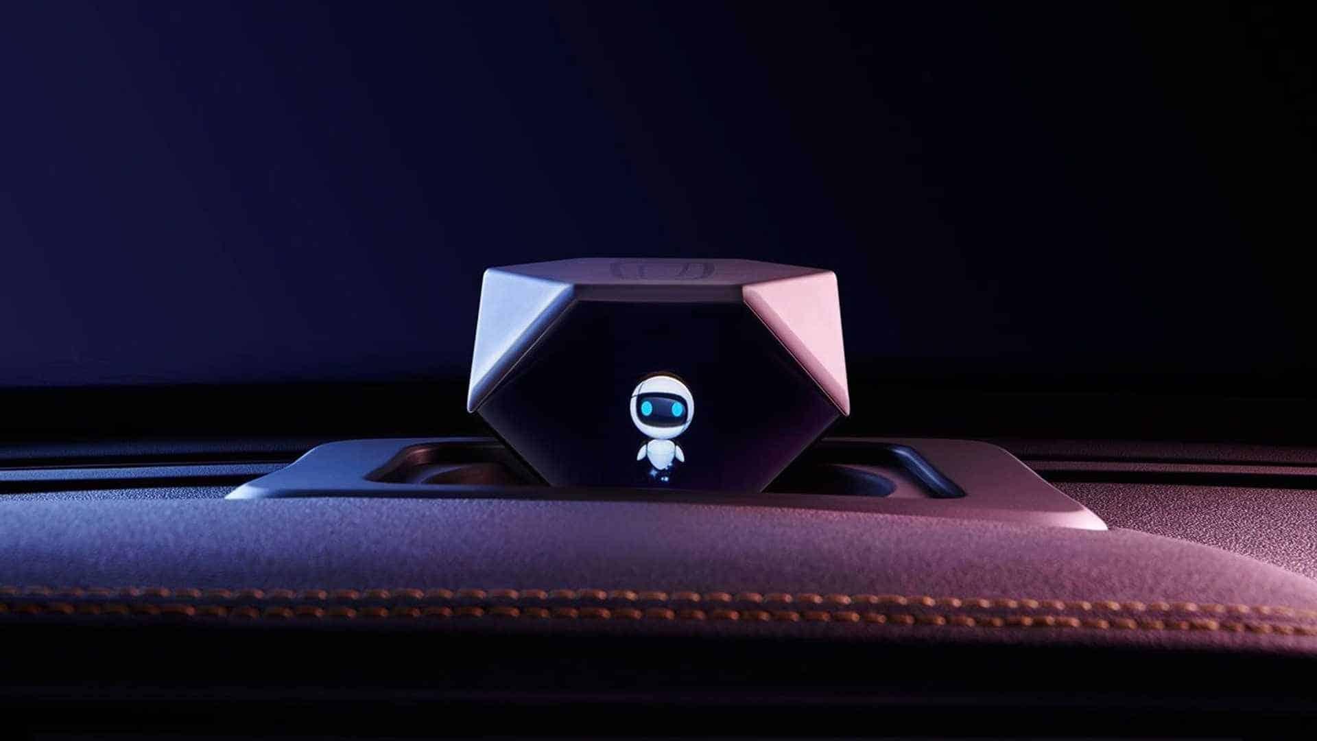 Xiao AI, o assistente holográfico do Bestune T77