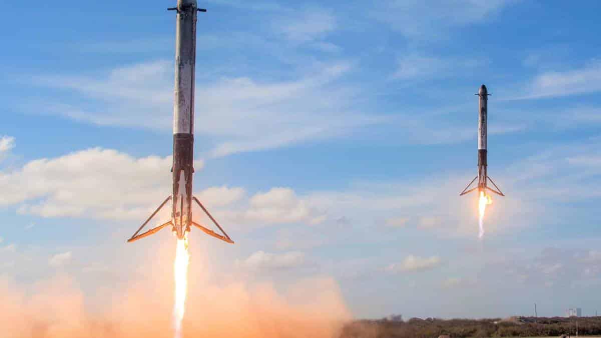 Núcleos Falcon Heavy
