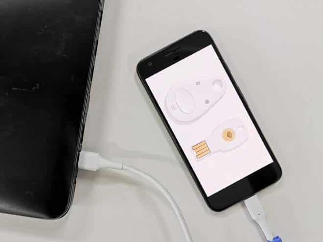 Google transforma celulares Android em chaves de segurança físicas para contas